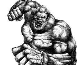 #18 for Illustrate a Strong Bodybuilder Monster by ArtHose