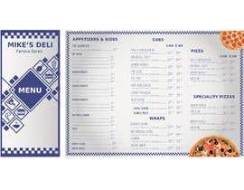#17 for Design a Tri-Fold/Digital Menu for Deli by fb57e109df3f33a