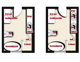 Nro 5 kilpailuun Design Board - Bathroom käyttäjältä abdomostafa2008