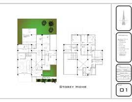 #34 for Architecture Design Floor Plan - Modern 2 Storey Home af Akeller21