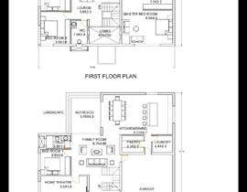 #40 for Architecture Design Floor Plan - Modern 2 Storey Home af designershra