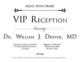 Nro 17 kilpailuun VIP reception Invitation käyttäjältä ElNaJjaR