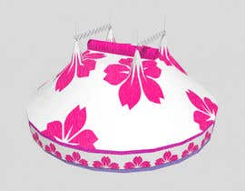 #17 for DESIGN FOR SAKURA CIRCUS TENT by WolfCubDesigns