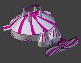 #45 for DESIGN FOR SAKURA CIRCUS TENT by VCreativo