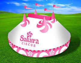 #26 para DESIGN FOR SAKURA CIRCUS TENT de Spector01