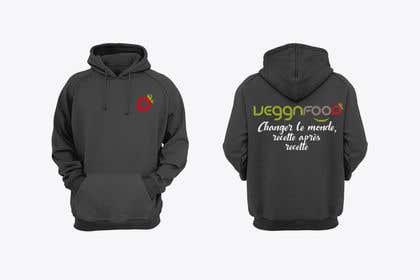 Imagem de                            Vegan hooded sweat shirt