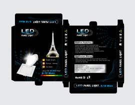 #33 cho Design box lamp with black background bởi shinydesign6