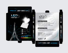 #34 cho Design box lamp with black background bởi shinydesign6