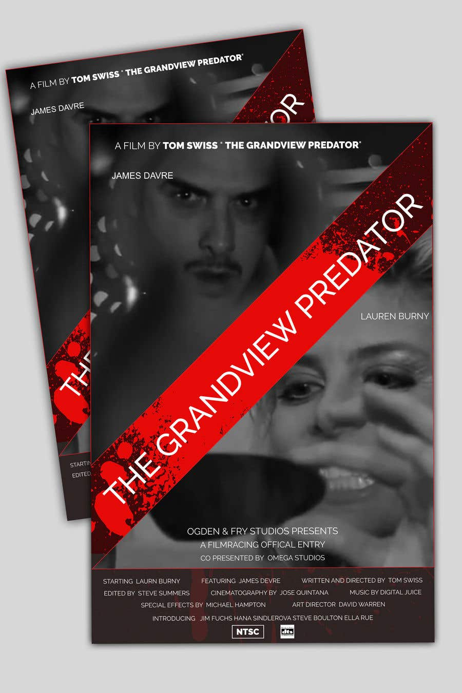 "Contest Entry #28 for Create a Movie Poster - ""Grandview Predator"""