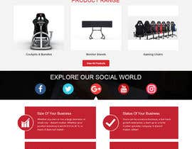 #14 for Design a home page including header and footer by pixelnpixel