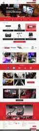 Imej kecil Penyertaan Peraduan #23 untuk Design a home page including header and footer