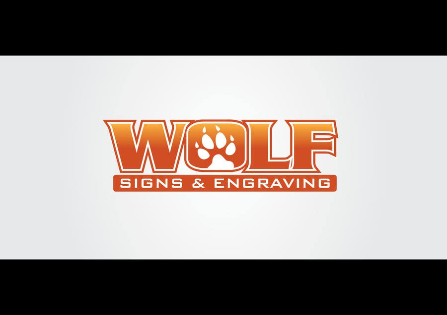#233 for Logo Design for Wolf Signs by HimawanMaxDesign