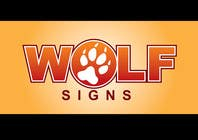 Contest Entry #203 for Logo Design for Wolf Signs
