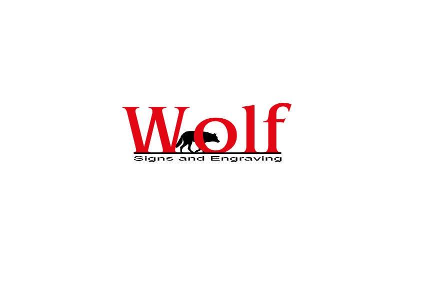 Bài tham dự cuộc thi #                                        145                                      cho                                         Logo Design for Wolf Signs