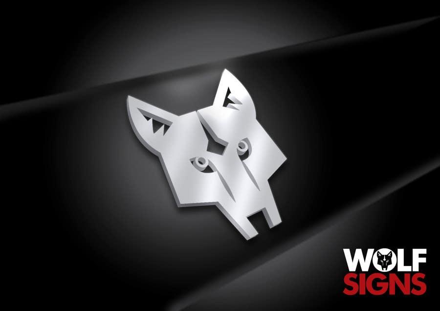 Bài tham dự cuộc thi #                                        64                                      cho                                         Logo Design for Wolf Signs