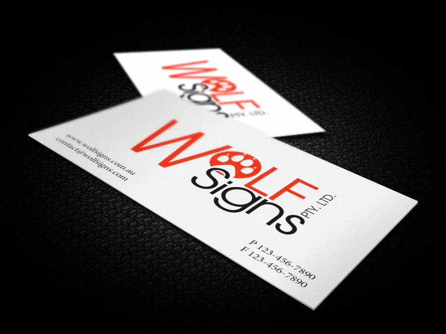 Bài tham dự cuộc thi #                                        193                                      cho                                         Logo Design for Wolf Signs