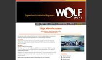 Graphic Design Konkurrenceindlæg #229 for Logo Design for Wolf Signs