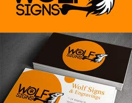 #239 para Logo Design for Wolf Signs por alizap