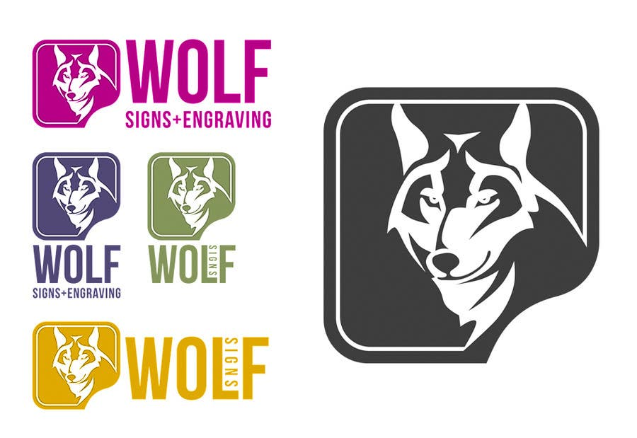 #272 for Logo Design for Wolf Signs by indracorp