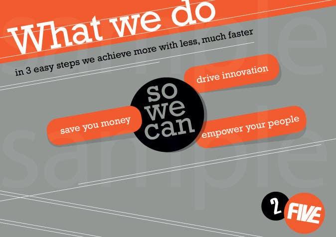 Bài tham dự cuộc thi #29 cho Brochure Design for 2five
