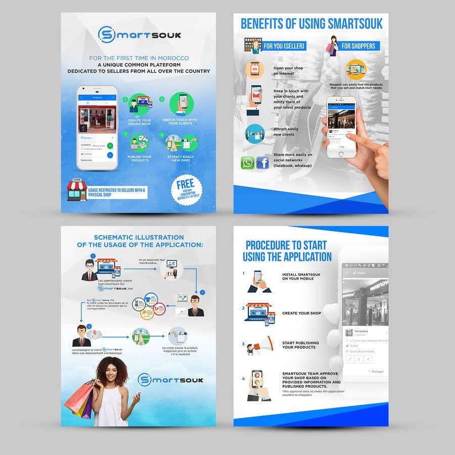 Penyertaan Peraduan #30 untuk Design Brochure for sales mobile application