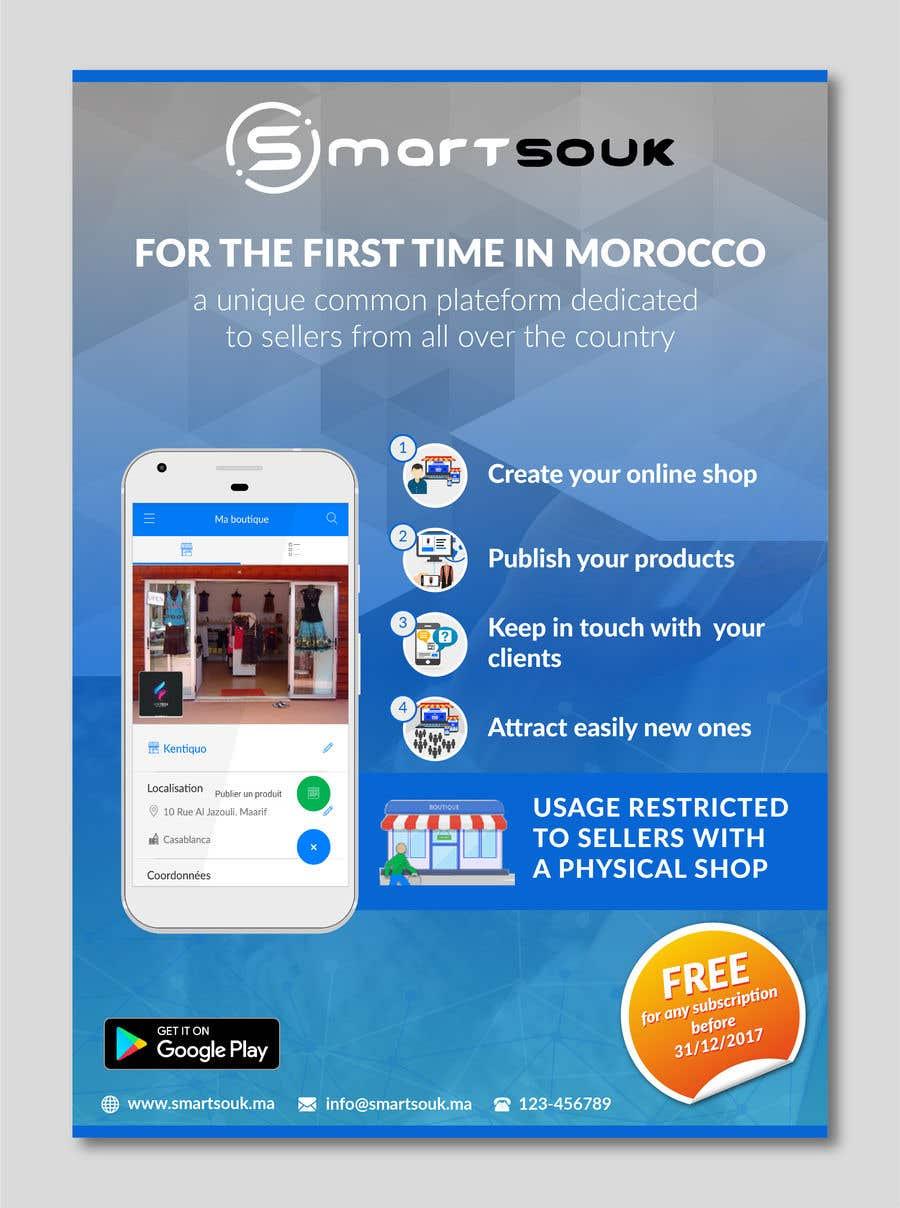 Penyertaan Peraduan #47 untuk Design Brochure for sales mobile application