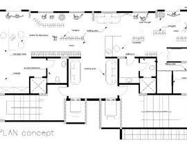 #7 for To design 2d interior space & furniture layout by Autocad for ladies fashion atelier by roxanahosu