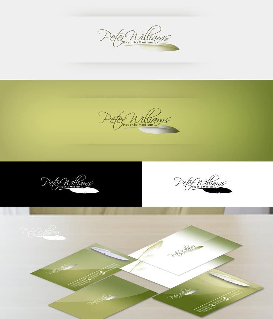 Bài tham dự cuộc thi #206 cho Logo Design for Peter Williams Psychic-Medium