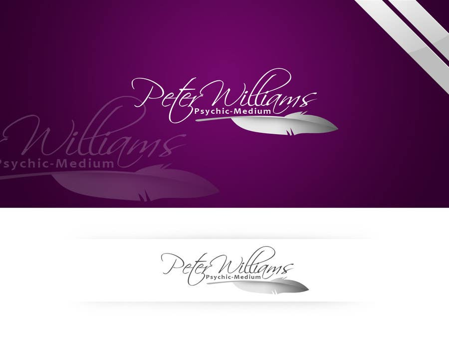 Penyertaan Peraduan #100 untuk Logo Design for Peter Williams Psychic-Medium