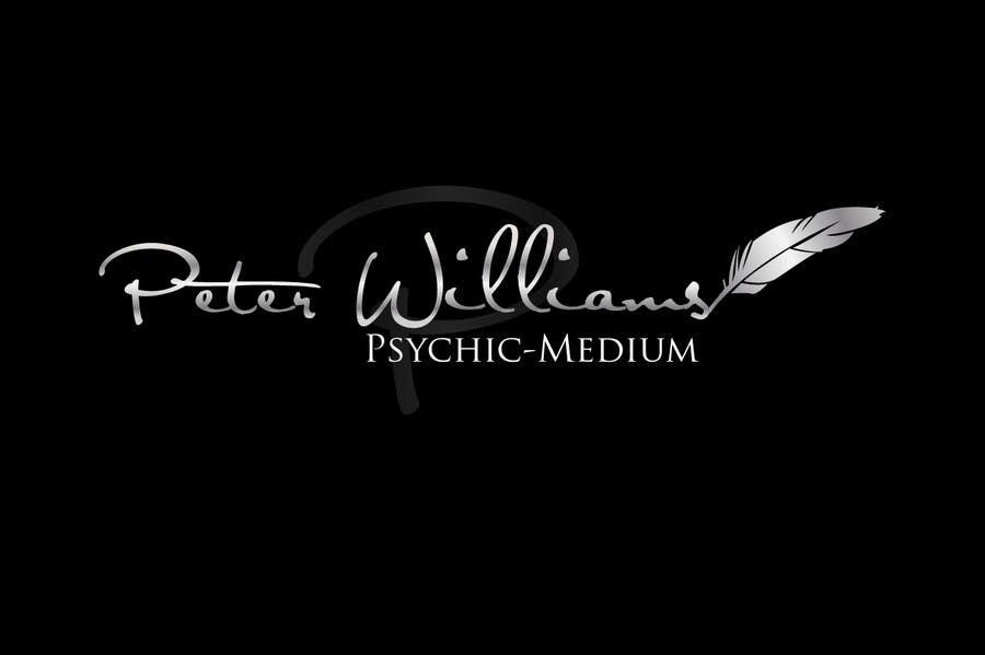 Penyertaan Peraduan #250 untuk Logo Design for Peter Williams Psychic-Medium