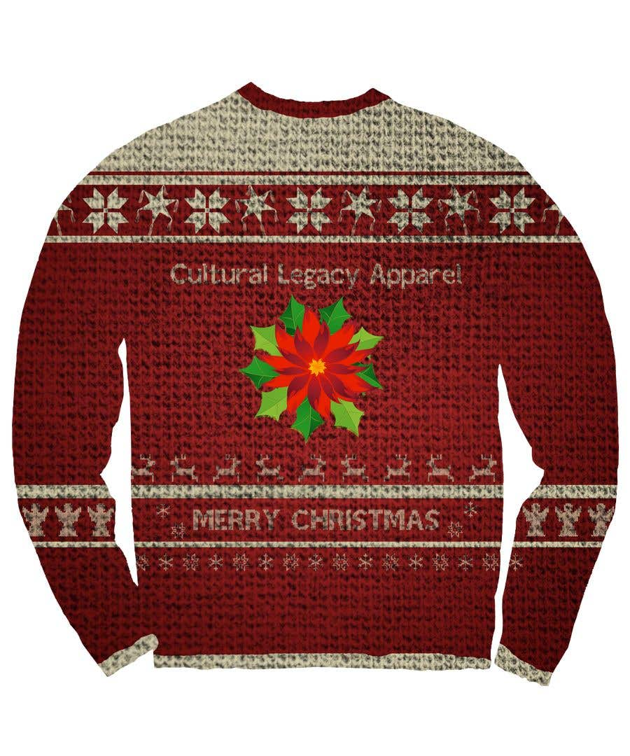 5c6a2f5d4 Entry  76 by Bartster for Mexican ugly sweater design