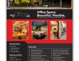 nº 96 pour FLYER for Coworking Office Space for Rent par uniquegraphix
