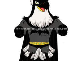 #13 for Give this mascot a Batman costume! af rabiaelmouden