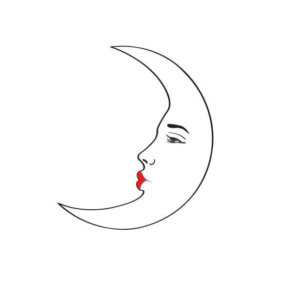 Entry 39 By Ashik0682 For Moon Face Illustration