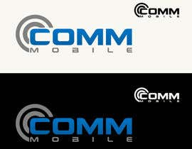 #161 para Logo Design for COMM MOBILE por CGSaba