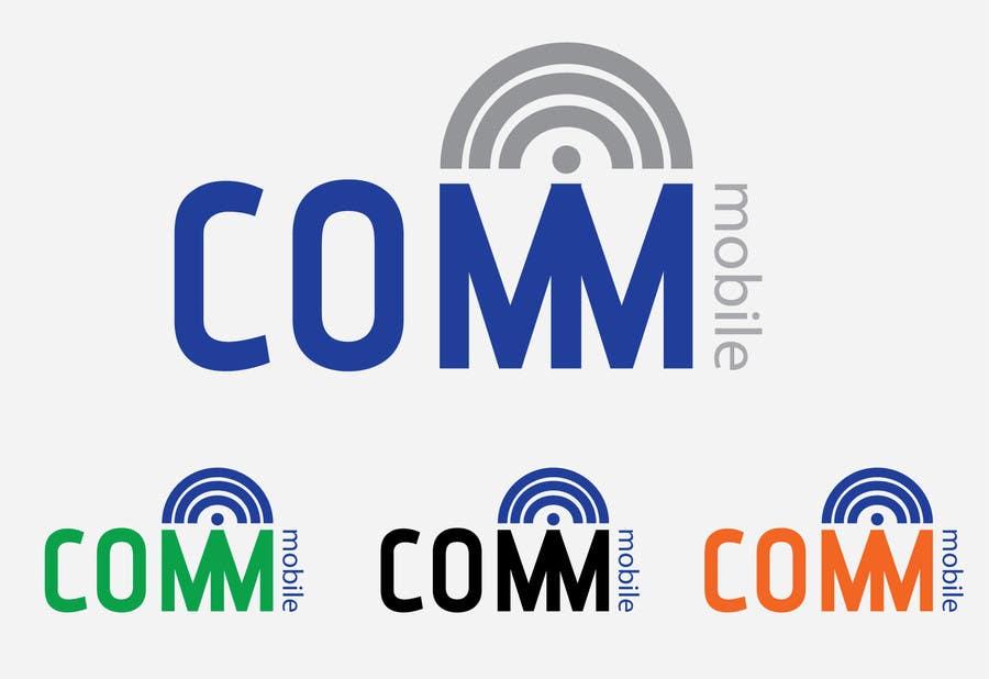 Конкурсная заявка №313 для Logo Design for COMM MOBILE
