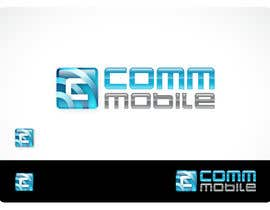 nº 101 pour Logo Design for COMM MOBILE par Habitus