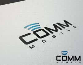 #229 para Logo Design for COMM MOBILE por dianabol100