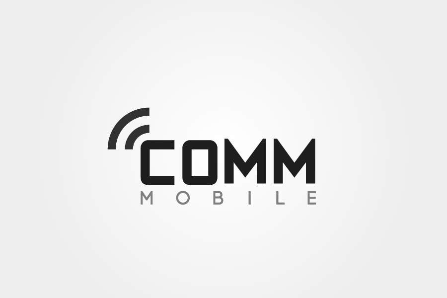 #176 for Logo Design for COMM MOBILE by sproggha