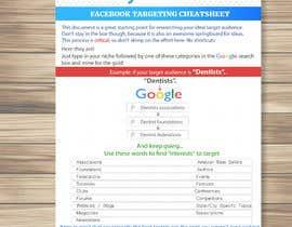 #8 para Document design: FACEBOOK TARGETING CHEATSHEET por kolbalish