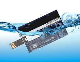#2 cho Design a 3D mockup of a credit card shape flash drive bởi AbidAliSayyed