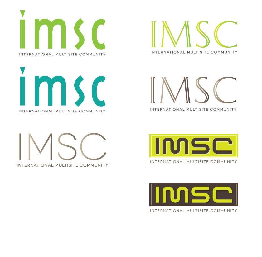 Penyertaan Peraduan #545 untuk Logo Design for IMSC