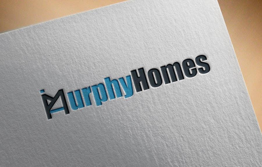 Конкурсная заявка №1338 для Logo for Murphy Homes