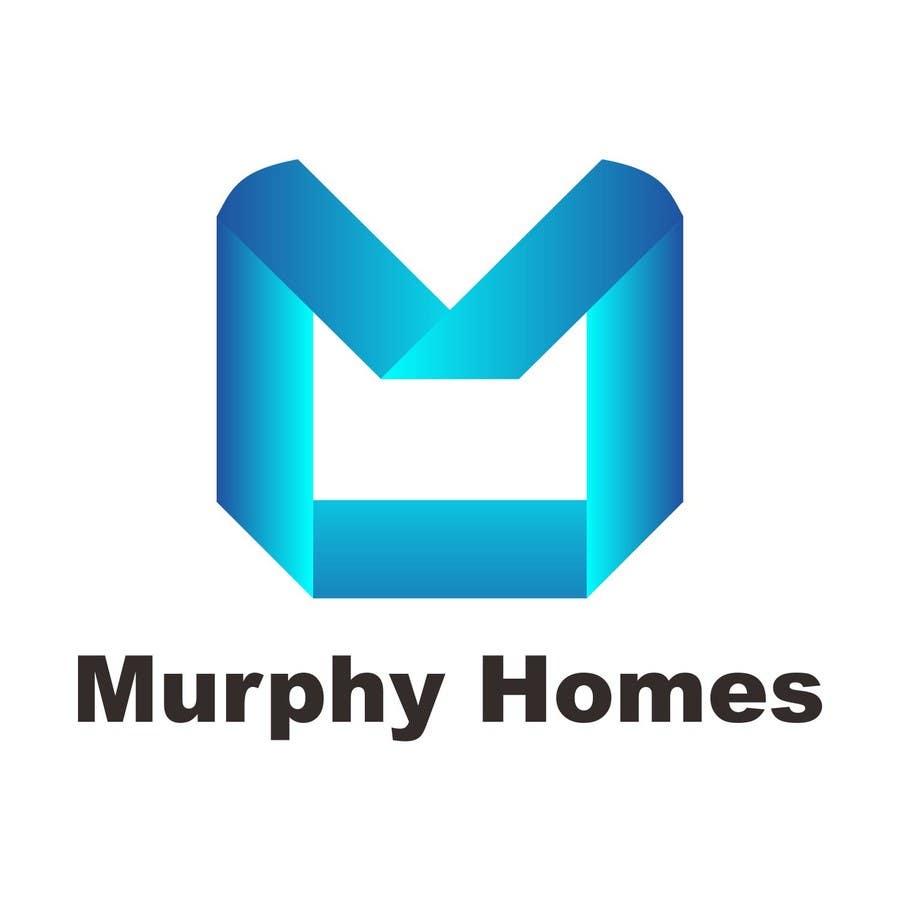 Конкурсная заявка №1460 для Logo for Murphy Homes