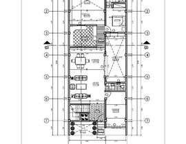 Nro 2 kilpailuun I need detailed house plan käyttäjältä Arkhitekton007