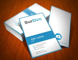 #184 para Business Card Design for SurDoc por XLNCInc
