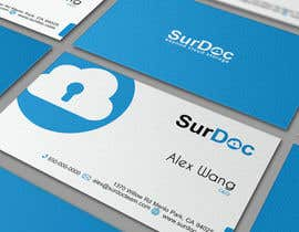 #183 para Business Card Design for SurDoc por timedsgn