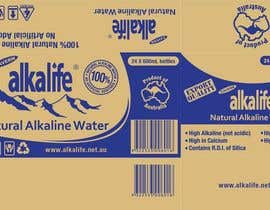 #12 para Package Design for alkalife Natural Alkaline Water por moncapili