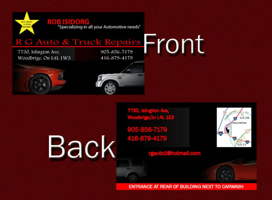 Entry 15 by tiger2246 for design some business cards for auto shop contest entry 15 for design some business cards for auto shop colourmoves Image collections