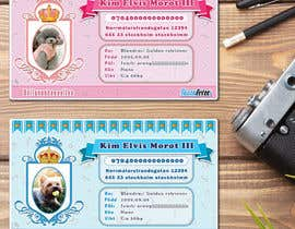 nº 48 pour Design a Pet ID-Card (for dogs and cats) Theme Prince and Princess par odiman